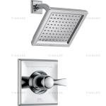 chrome shower